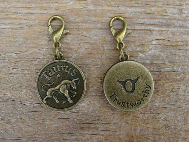 Halak csillagjegy antik bronz kapcsolható medál