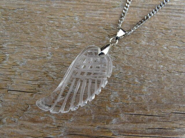 Hegyikristály angyalszárny ásvány medál