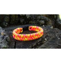 Paracord Fishtail karkötő - Tutti Fruity